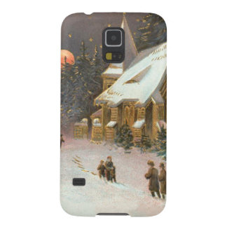 Going To Church Tree Snow Moon Stars Case For Galaxy S5