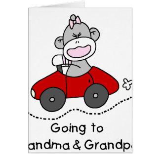 Going to Grandma and Grandpas Greeting Card