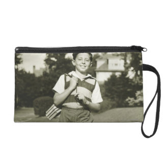 Going to School Wristlet