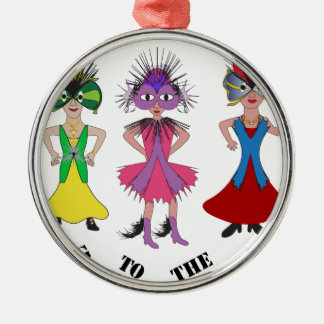 Going to the Ball Christmas Ornament