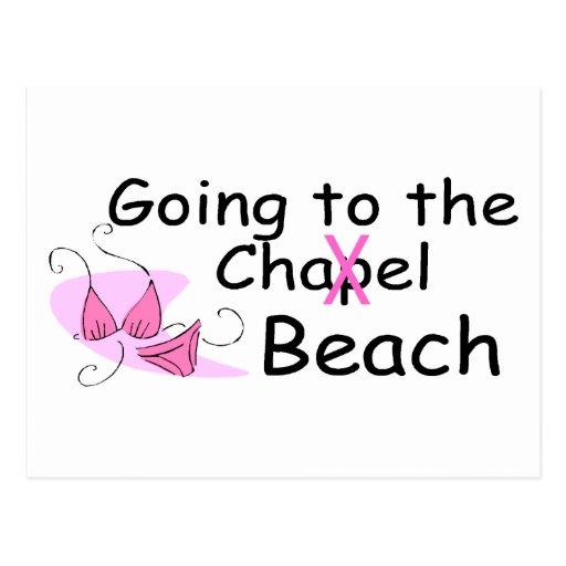 Going To The Chapel (Beach) (Bikini) Postcard