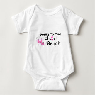 Going To The Chapel Beach (Swimsuit) Baby Bodysuit