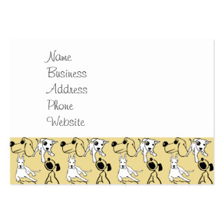 Going to the Dogs Pet Lovers Vet Dog Gifts Pack Of Chubby Business Cards