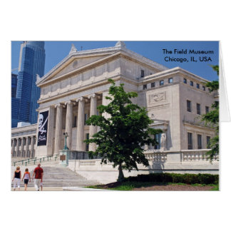 Going to the Field Museum Card