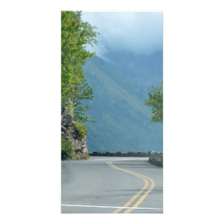 Going to the Sun Road Customised Photo Card