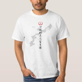 Goju Karate shirt with Okinawan Islands