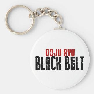 Goju Ryu Black Belt Key Ring