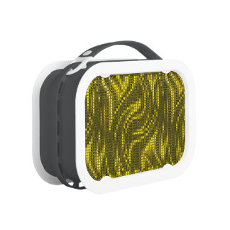 Gold 2 Sequinned Bling Effect Lunch Box