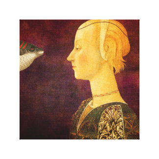 Gold 48 - creation vintage France Canvas Print
