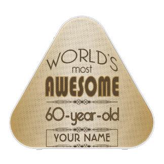 Gold 60th Birthday Celebration World Best Fabulous