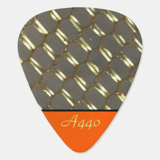 Gold Abstract Plectrum