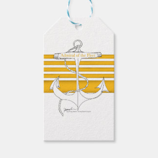 gold admiral of the fleet, tony fernandes gift tags