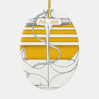 gold admiral, tony fernandes christmas ornament