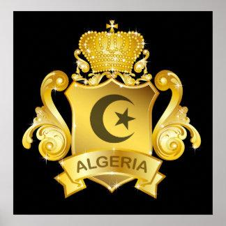 Gold Algeria Posters