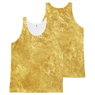 GOLD All-Over PRINT TANK TOP
