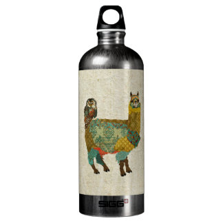 Gold Alpac & Teal Owl Liberty Bottle SIGG Traveller 1.0L Water Bottle