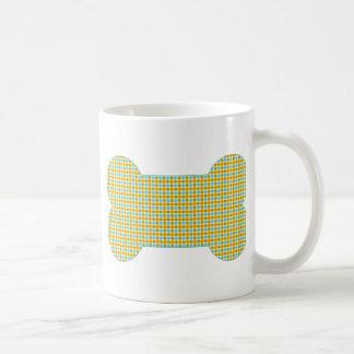 Gold and Aqua.png Basic White Mug