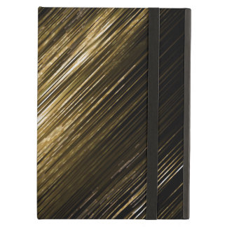gold and black case for iPad air