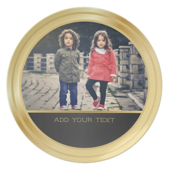 Gold and Black Decorative Frame with DIY Photo
