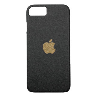 Gold and Black Glitter Apple™ iPhone 8/7 Case