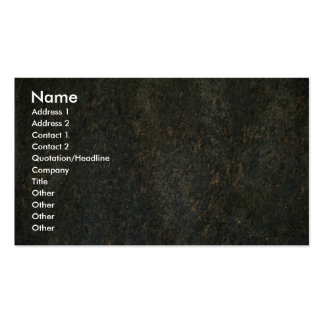 Gold and blue granite pack of standard business cards
