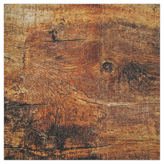 Gold And Copper Wood Plank Fabric