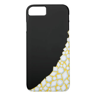 Gold and Diamond iPhone case (6/6s) Black