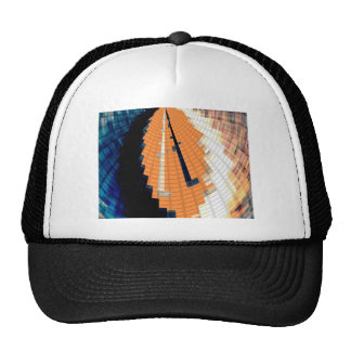 Gold and Diamond Patterns V11 Trucker Hat