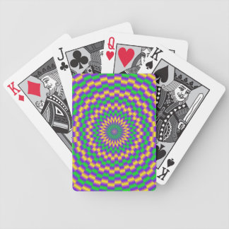 Gold and Green Links Bicycle Playing Cards