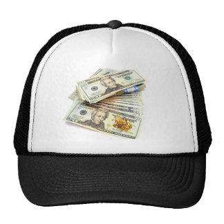 Gold And Money Hat