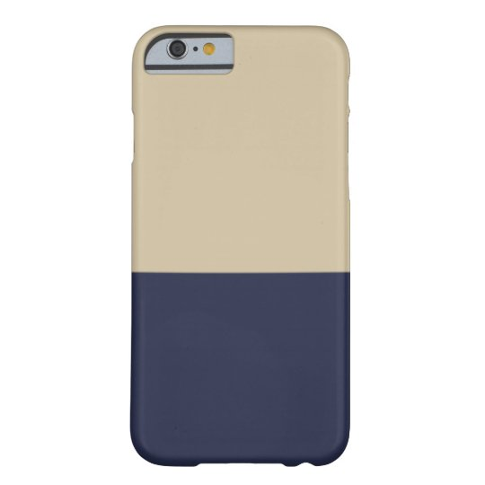 Gold and Navy iPhone 6 case