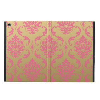 Gold and Pink Classic Damask