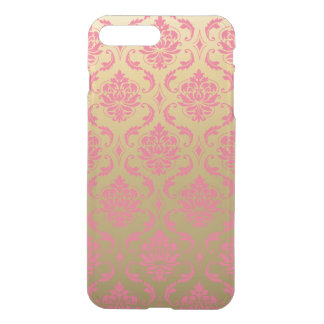 Gold and Pink Classic Damask iPhone 8 Plus/7 Plus Case