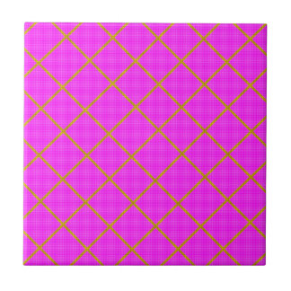 Gold and Purple Tile