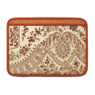 Gold And Red Lace Sleeve For MacBook Air