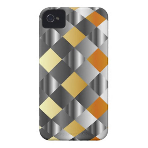 Gold and silver background Case-Mate iPhone 4 case