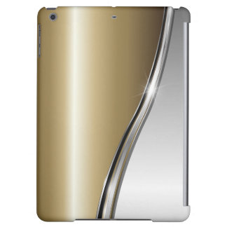 Gold and Silver Case Savvy Matte Finish iPad Air