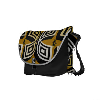 Gold and Silver Cuffs Messenger Bags