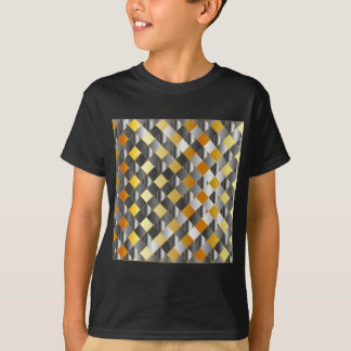 Gold and silver grids shirts