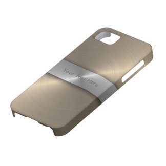 Gold And Silver iPhone 5 Cover