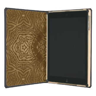 Gold Animal Print Cover For iPad Air