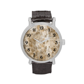 Gold Antique Abstract Watch