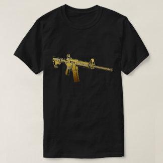 Gold AR15 T-Shirt