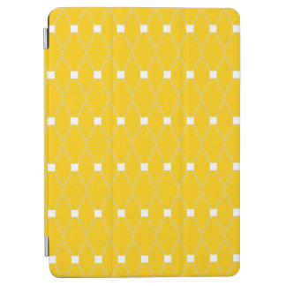 Gold Argyle Lattice iPad Air Cover