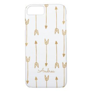 Gold Arrows Apple iPhone 7 Case