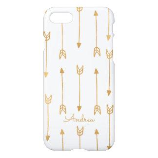 Gold Arrows iPhone 7 Case