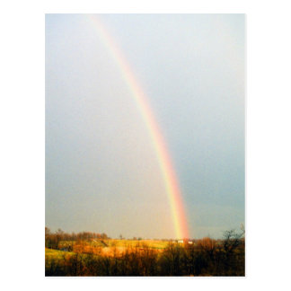 Gold at end of Rainbow Postcard