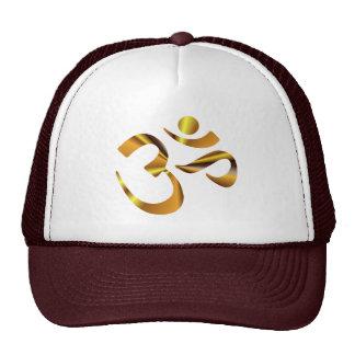 Gold Aum Hat