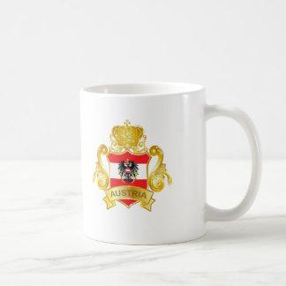 Gold Austria Basic White Mug