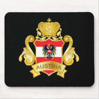Gold Austria Mouse Pad